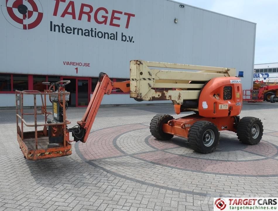 JLG 450AJ Articulated 4x4 Diesel Boom Work Lift 1551cm