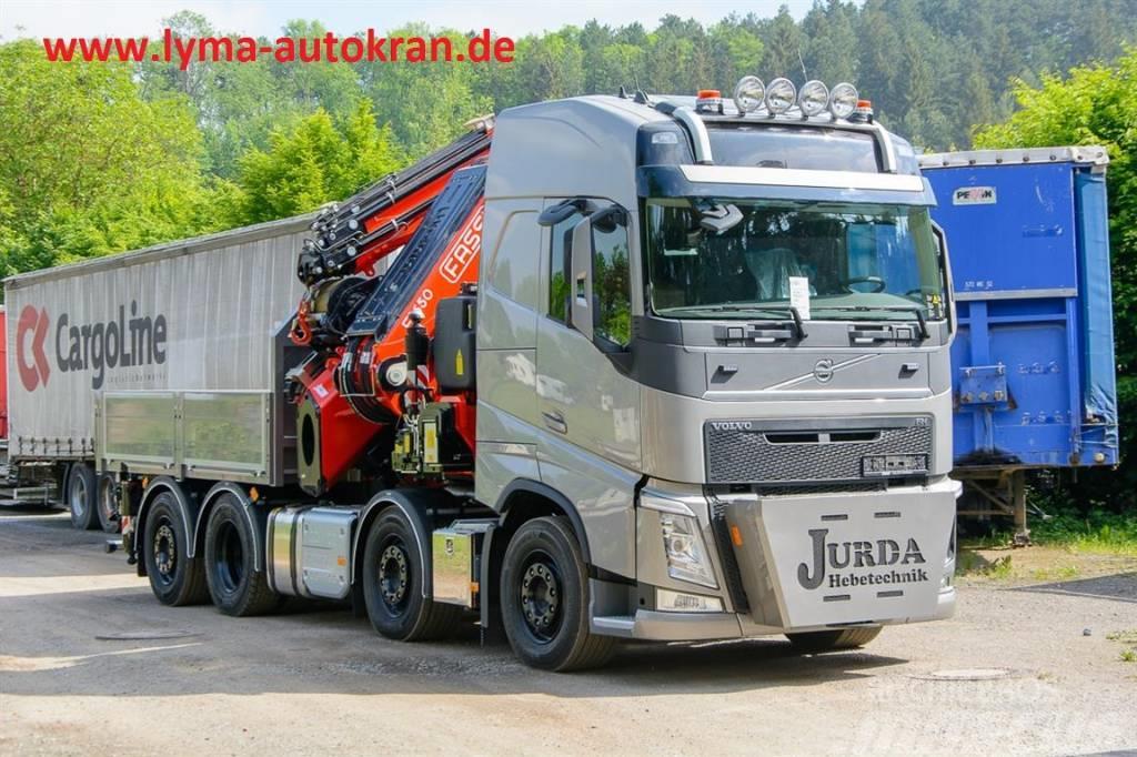 Volvo FH 540 8x2 Fassi F1650 RA 2.28 L816