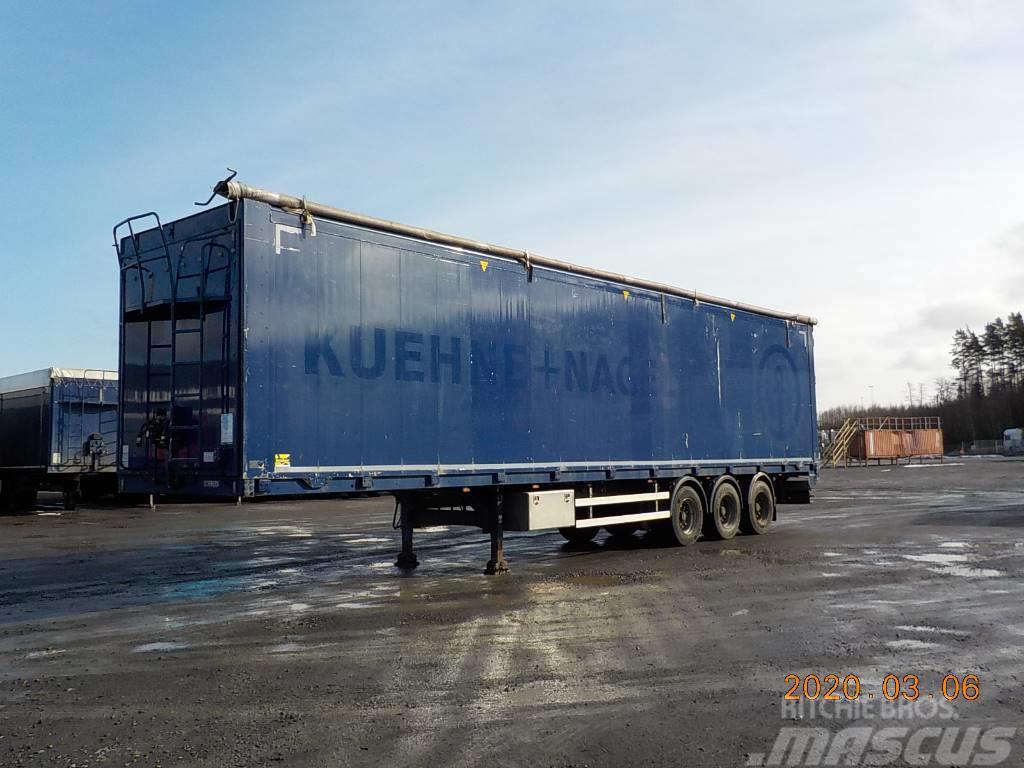 Kraker MOVING FLOOR - HYDRAULIC OPENSIDE - DGU 204