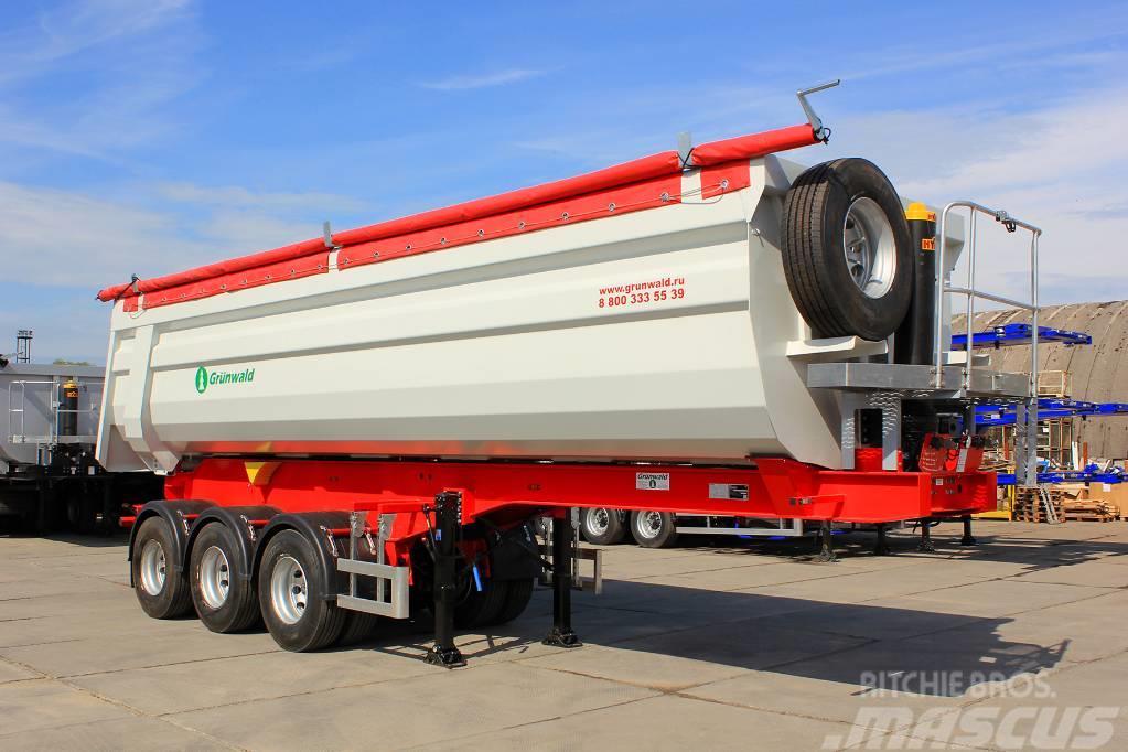 Grunwald Tipper semitrailer 36cbm