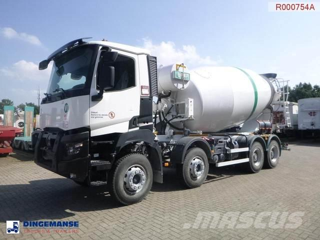 Renault K 430 8x4 Euro 6 Imer concrete mixer 12 m3