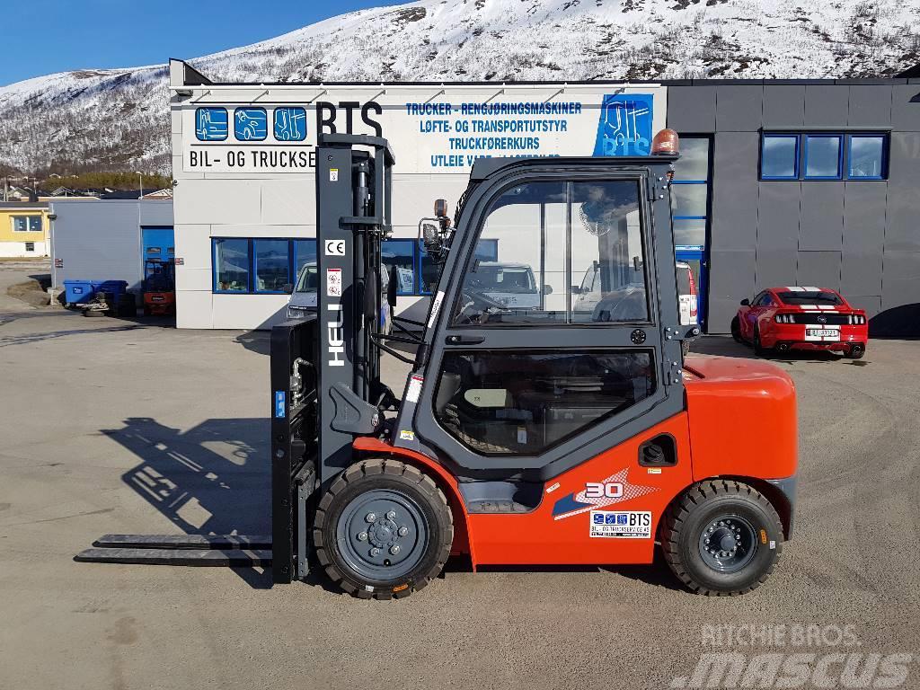 Heli CPCD30 (H3) - 3 tonns dieseltruck (på lager)