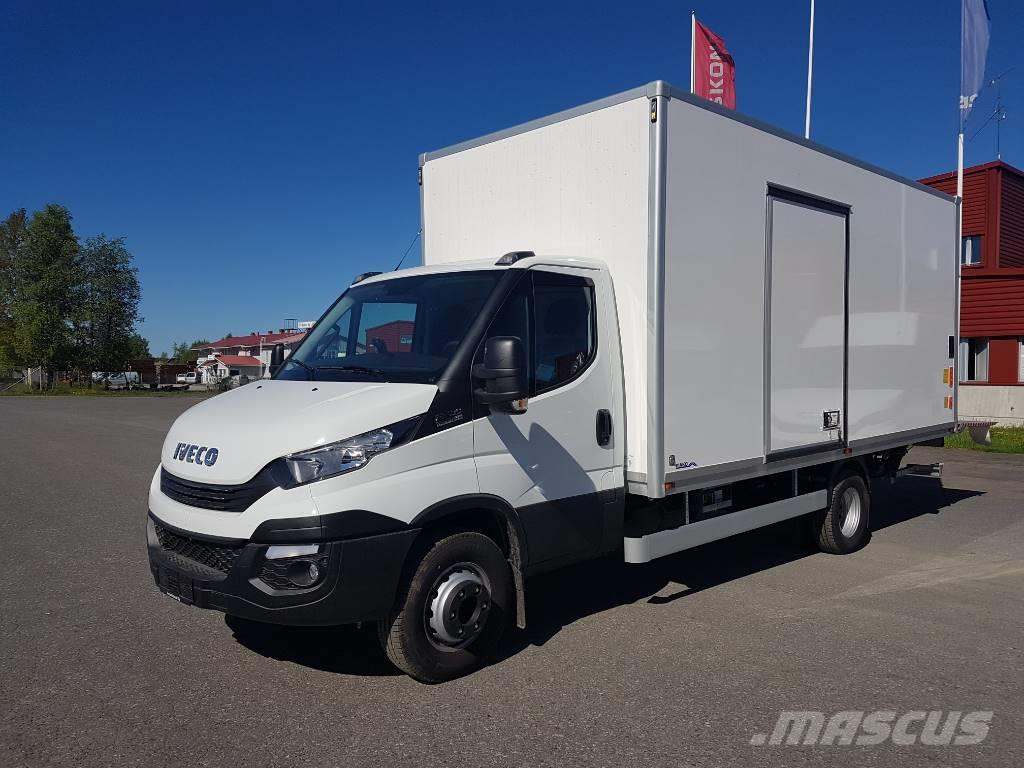 used iveco daily 72c18a8 box body year 2017 price 69 537 for sale mascus usa. Black Bedroom Furniture Sets. Home Design Ideas