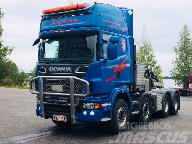 Scania R620, 8x4