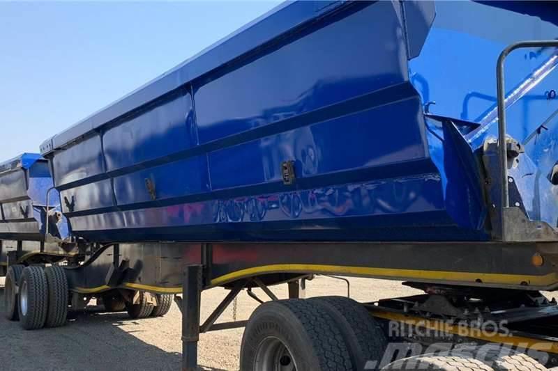 Sa Truck Bodies 2013 SA Truck Bodies 45m3 Side Tipper