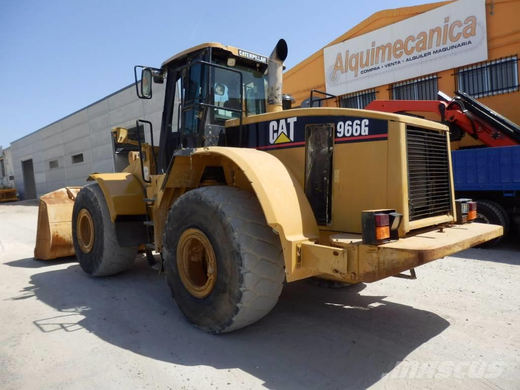Caterpillar 966 G, 2002, Wheel Loaders ...