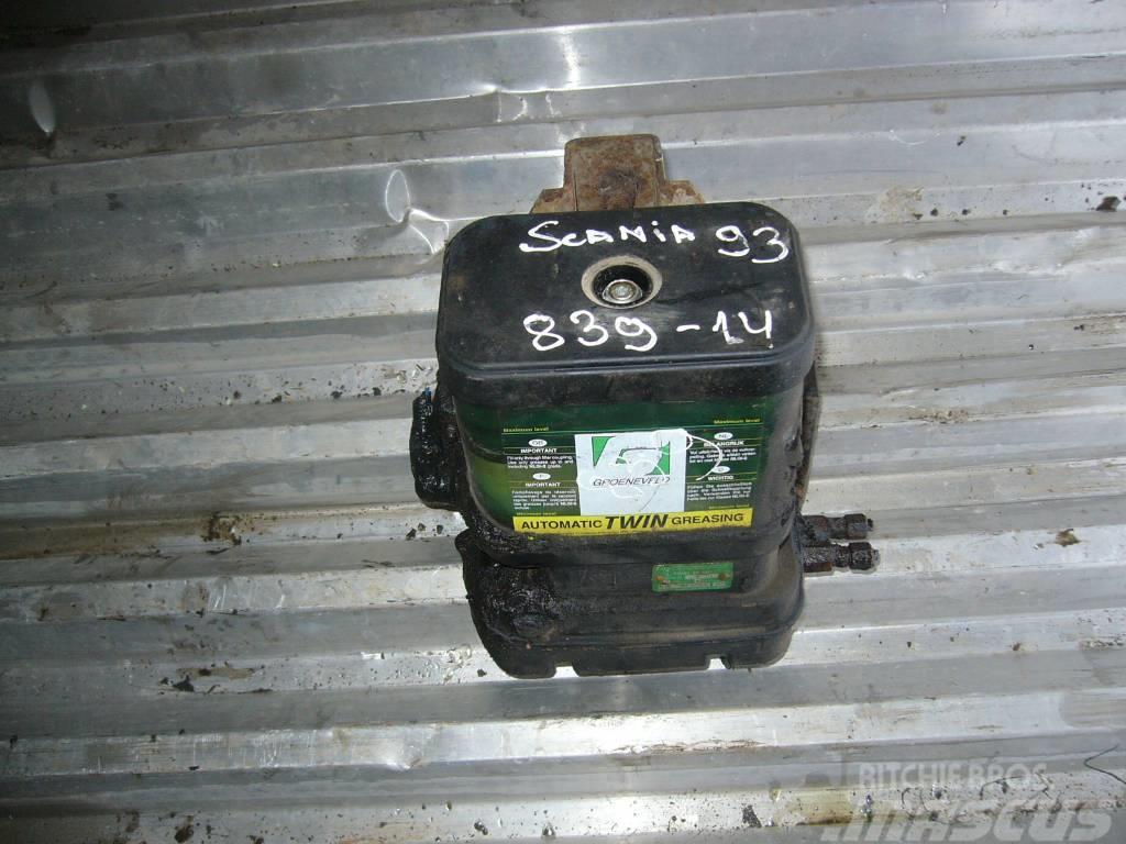 Scania 93 refrigiration unit