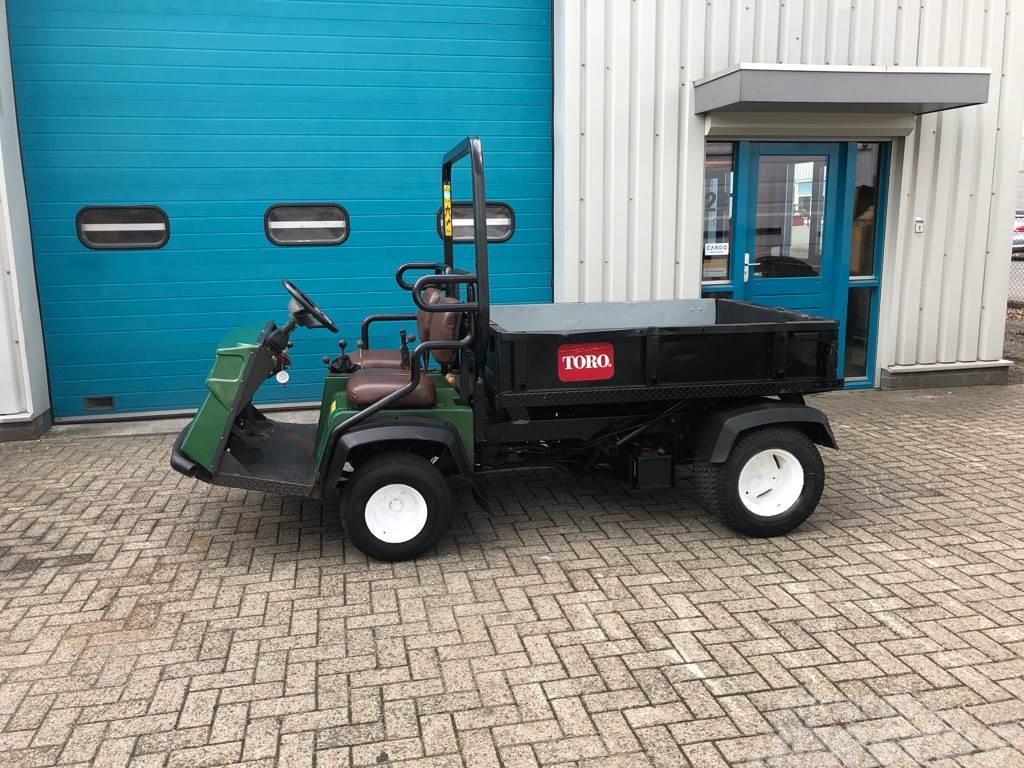Toro WORKMAN 3300-D, Kieper, Tuin tractor