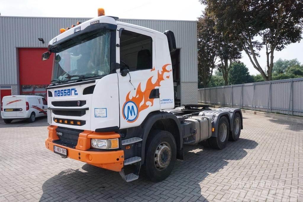 Scania G450 / AD-BLUE / AUTOMATIC / RETARDER / 6x4 / HYDR