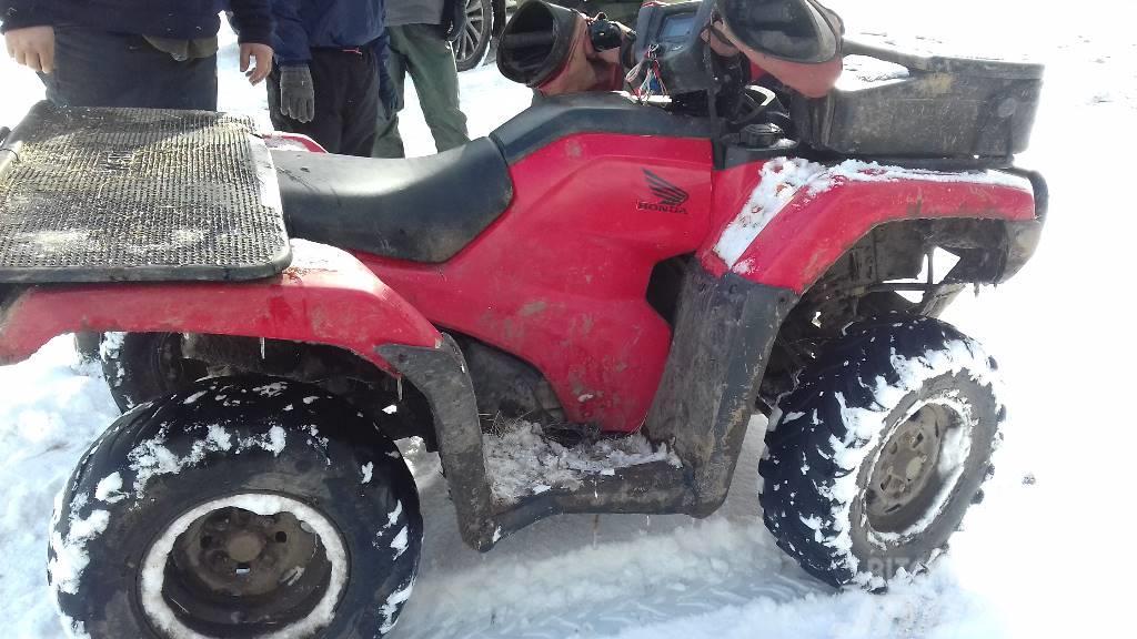 Honda TRX500ES ATV Quad