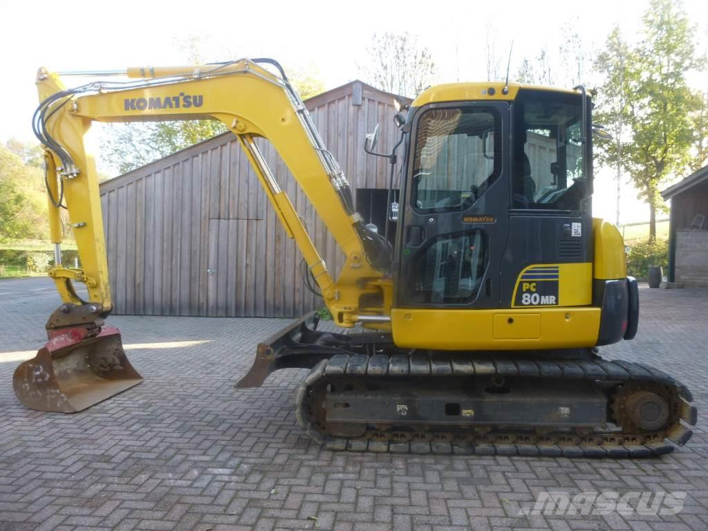 Komatsu PC 80 MR-3 (perfect condition, Germany machine)