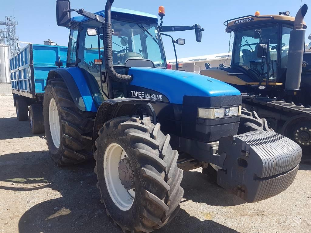New Holland TM165, 2002, Combine Harvesters ...