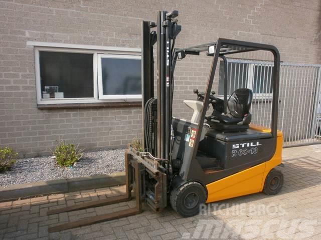 Still R60-18 I FREELIFT 3,7 M Vorkenspreider SHIFT Joyst