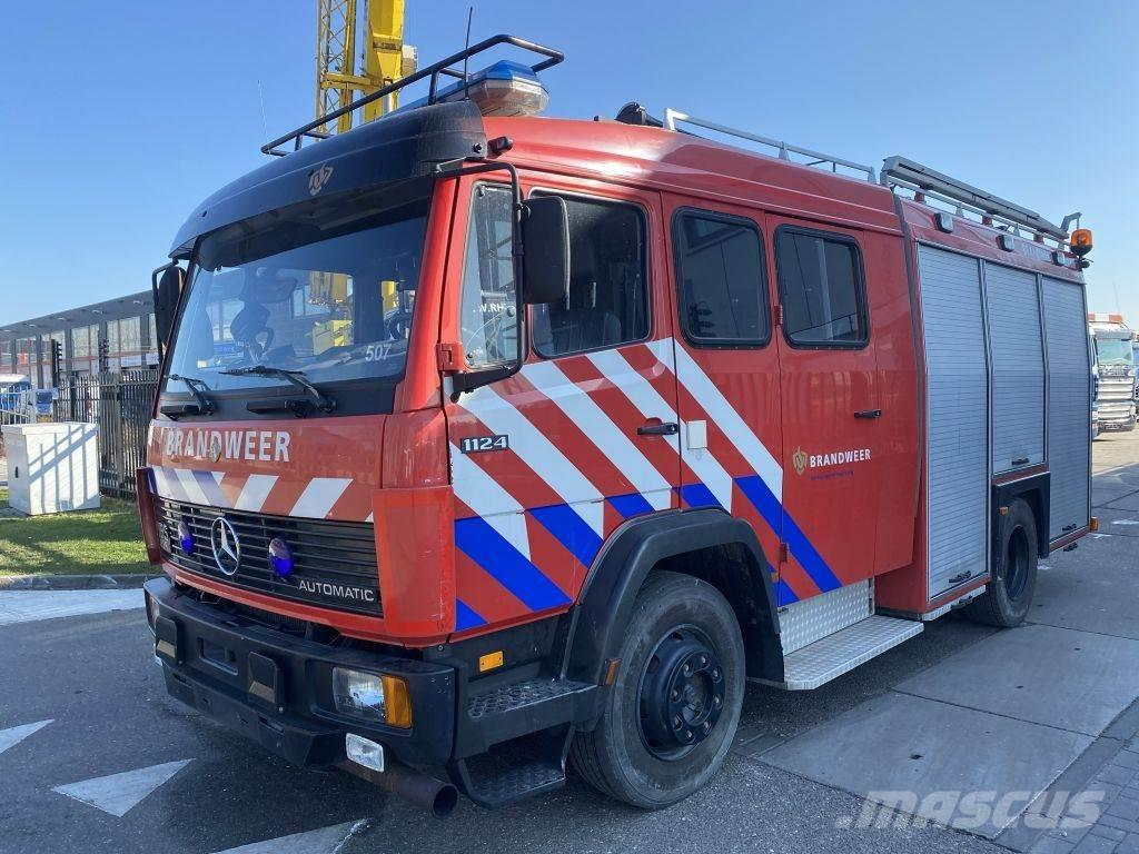 Mercedes-Benz 1124 F 4X2 - FULL STEEL - HOLLAND FIRE TRUCK