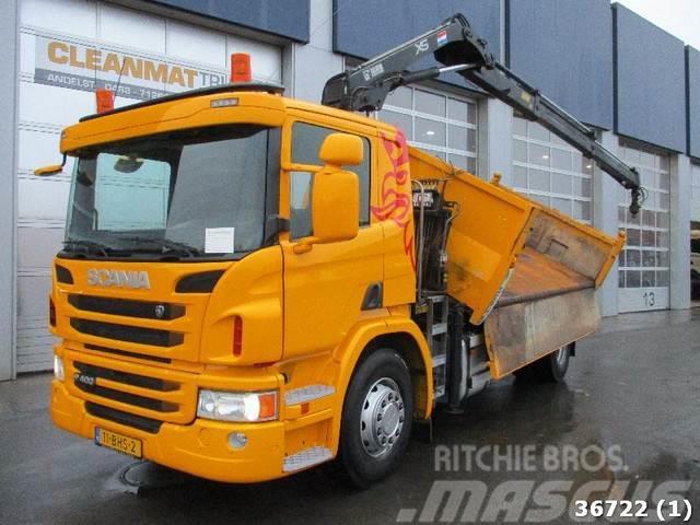Scania P400 Euro 5 Hiab 11 ton/meter laadkraan