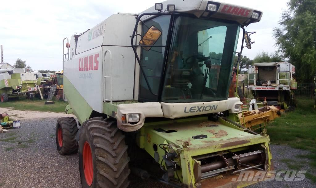 CLAAS Lexion 440 used parts