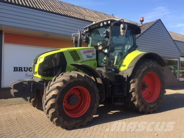 CLAAS Axion 810 Cmatic business