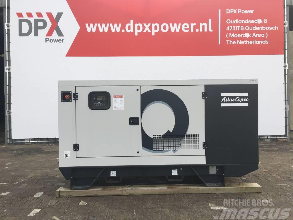 Atlas Copco QIS 95 - 95 kVA Generator - DPX-19406