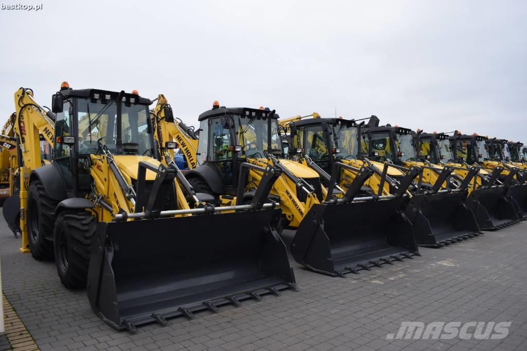 New Holland B 110 B CASE 580 ST