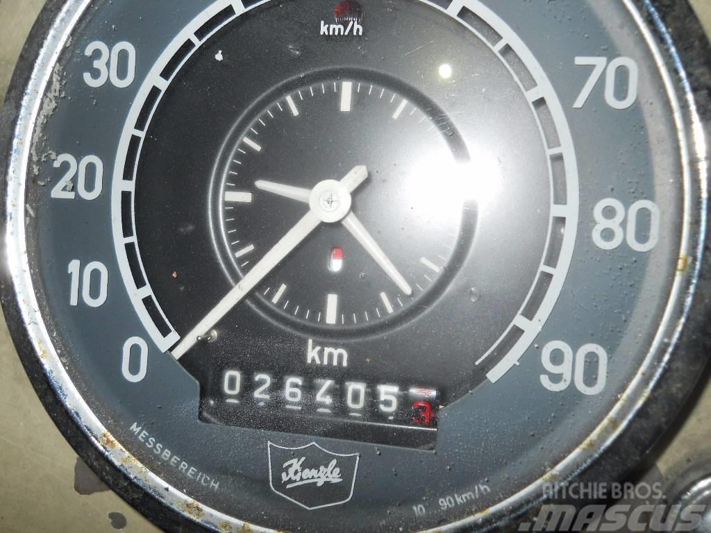 Mercedes-Benz LPS 338 Wasserwerfer Wawe 64, 1964, Plogbilar