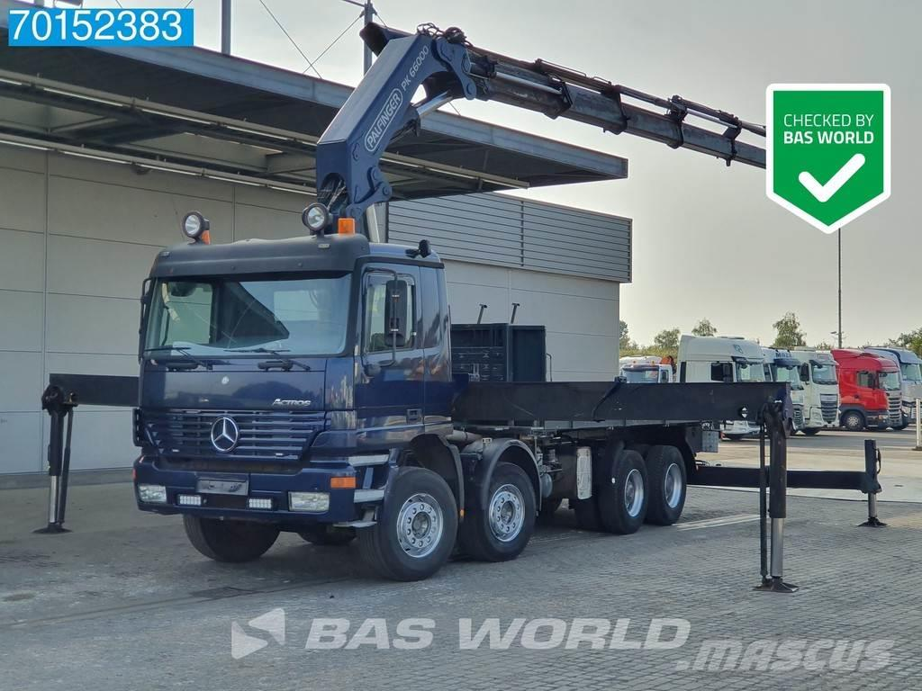 Mercedes-Benz Actros 4143 8X4 Big-Axle Steelsuspension Euro 3 Pa