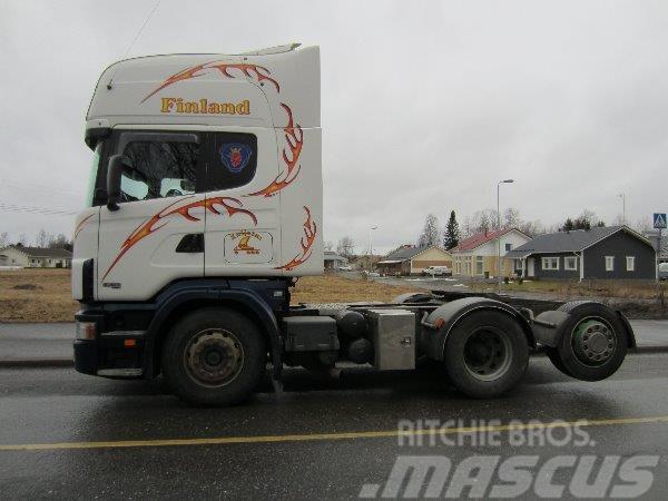 Scania R 124 6X2 2900+131, 2003, Dragbilar
