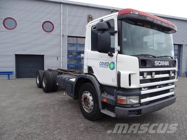 Scania 114-380 / MANUAL/ 6X4 / LOW KILOMETERS / 2002