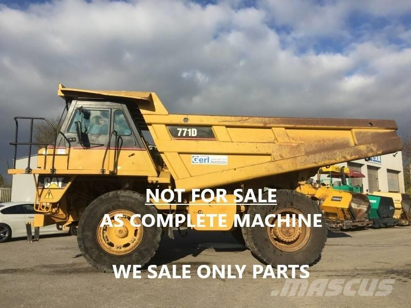 Caterpillar DUMPER 771D ONLY FOR PARTS