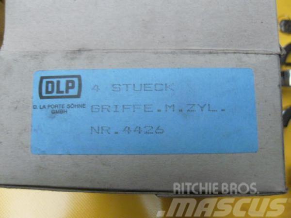 DLP Türgriffe mit Schließzylinder, 1960, Hytter