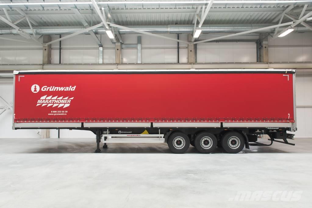 Grunwald Curtain sided semitrailer