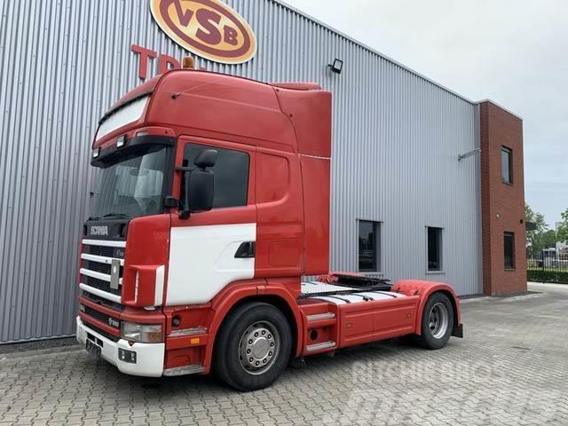 Scania 164L 580 4x2 topline / Retarder / manual