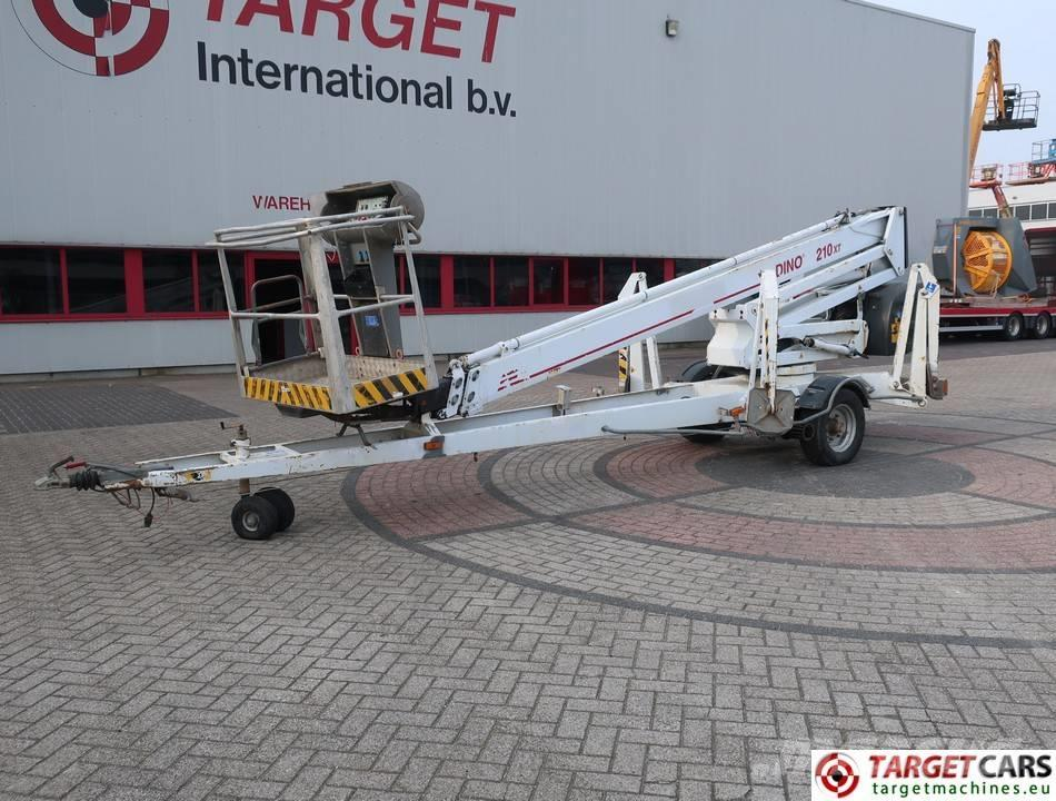 Dino 210XT Telesconic Trailered Electric Boom Lift 21M