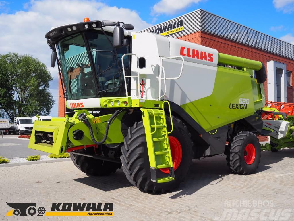 CLAAS Lexion 620 + V620