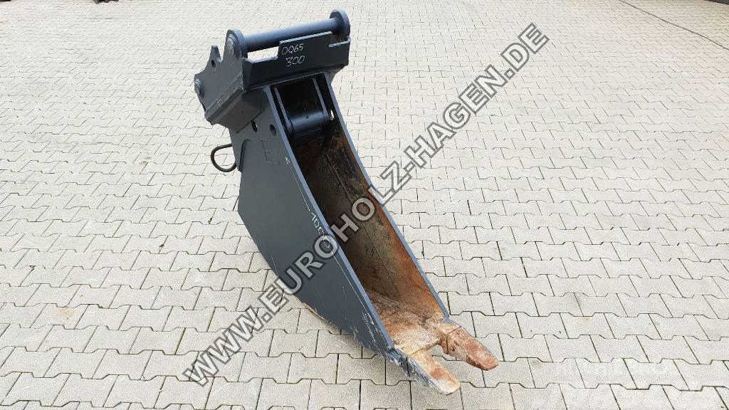 [Other] Tieflöffel mit hydr. Auswerfer passend OQ65-5 300