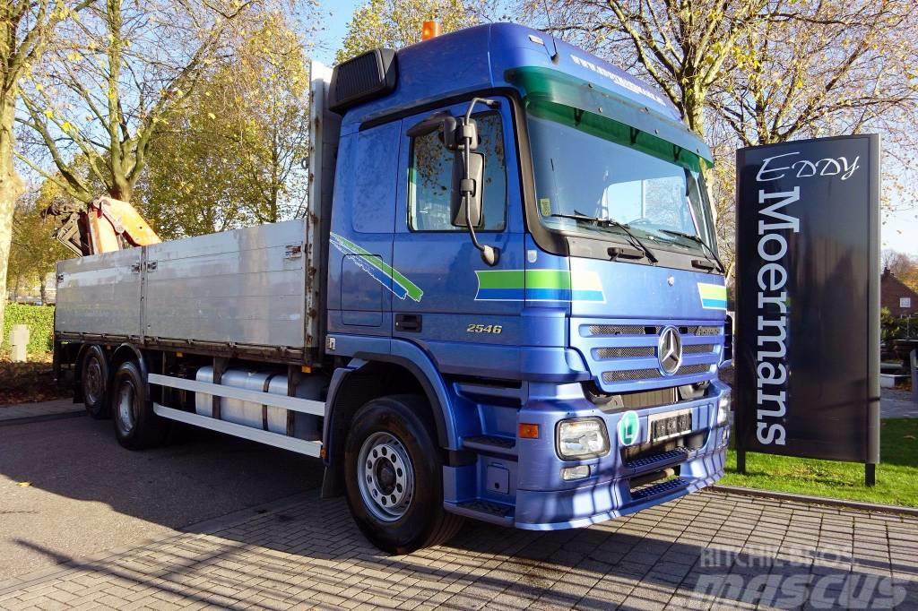 Mercedes-Benz Actros 2546 6x2 Crane
