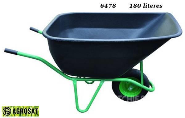 Agrosat Talicska LV 1 egykerekű 180 liter fix 6478