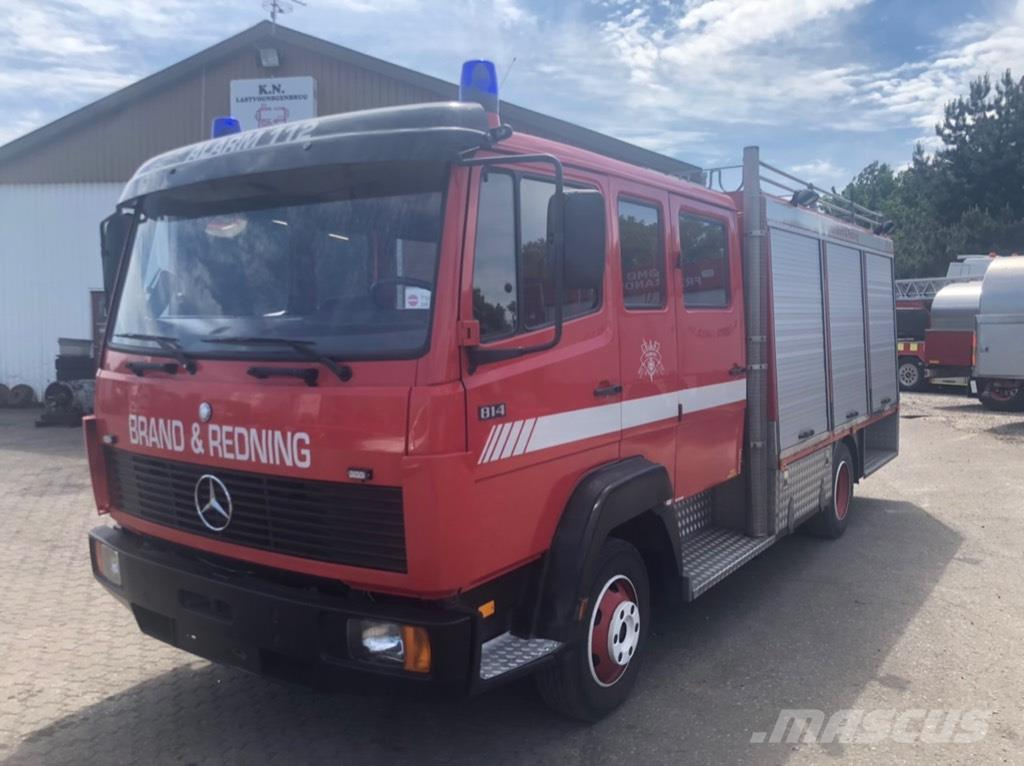 Mercedes-Benz 814 MANDSKABSBIL FIRE TRUCK