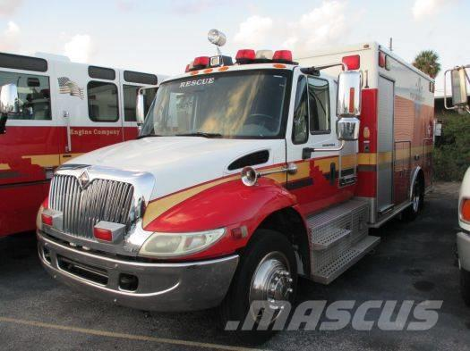 International Emergency Rescue Ambulance MEDTEC FD170