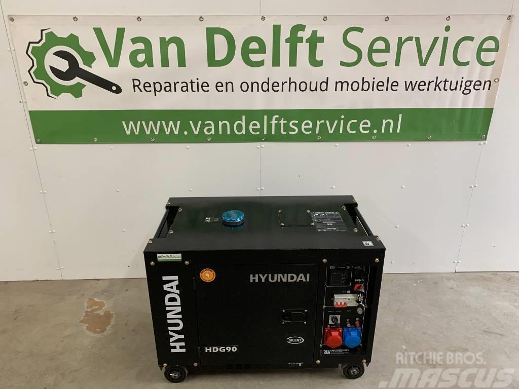 Hyundai HDG90 Diesel generator aggregaat