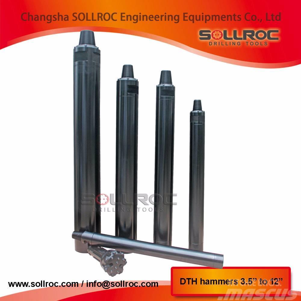 Sollroc DTH hammers DHD3.5, QL30, M30, COP32,COP34