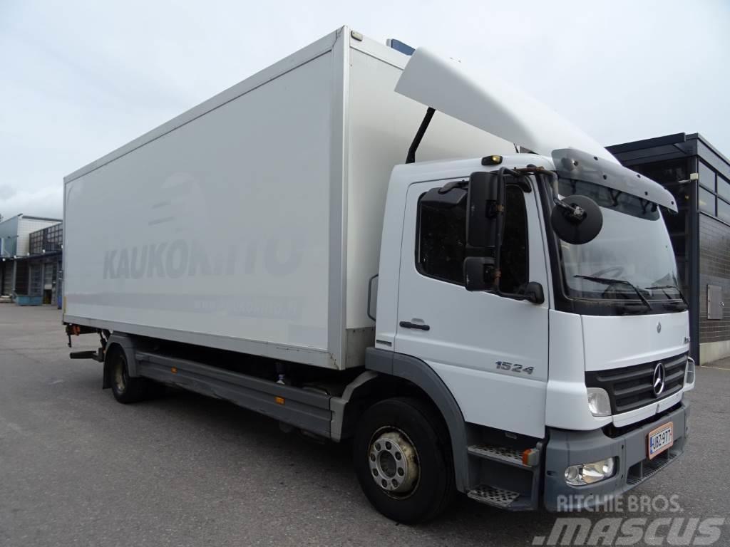 Used mercedes benz atego 1524l box trucks year 2007 price for Mercedes benz box truck for sale