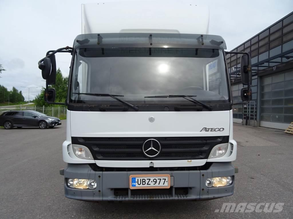 Used mercedes benz atego 1524l box trucks year 2007 price for Mercedes benz atego