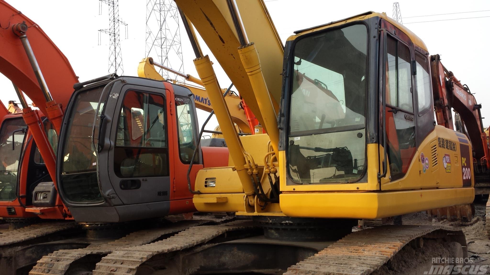 Komatsu PC 200-7 PC200-7
