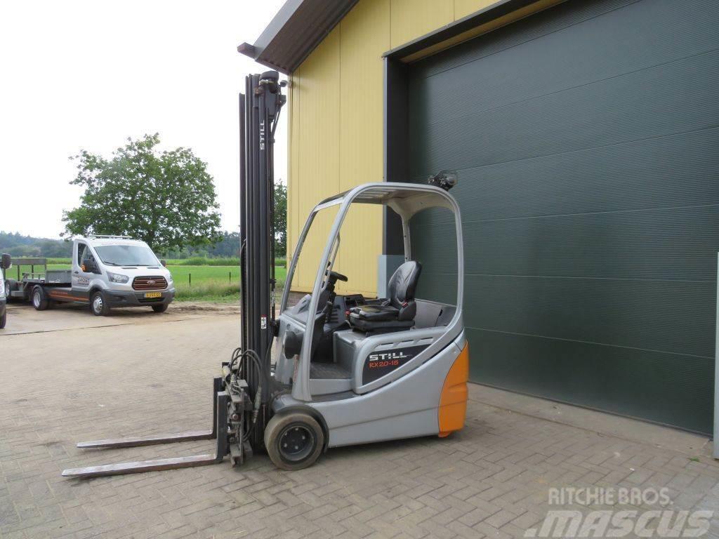 Still RX20 15 heftruck elektrische met lepelversteling s
