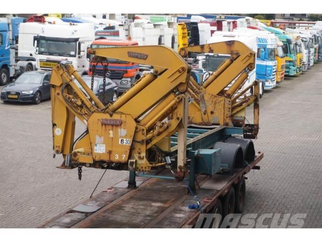 Klaus Side loader 20 TON zonder assen / without axles