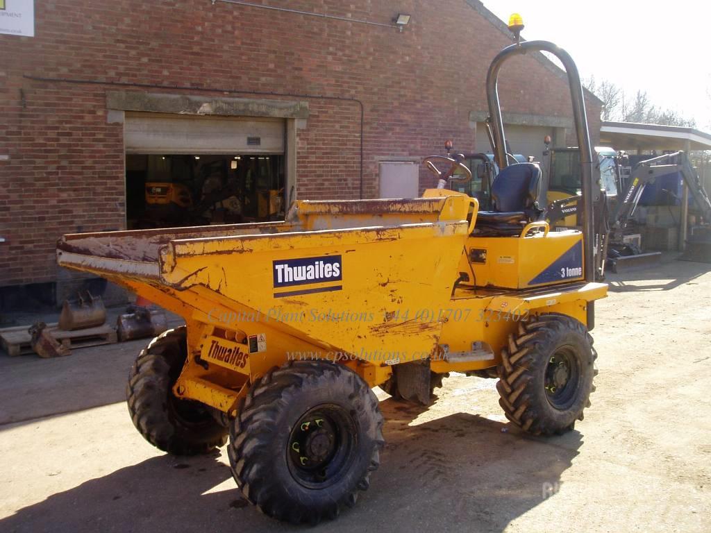Thwaites 3 Tonne Forward Tip Dumper