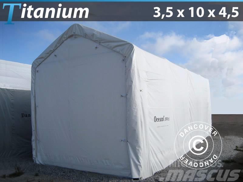 Dancover Boat Shelter 3,5x10x3,5x4,5m, PVC Bådtelt