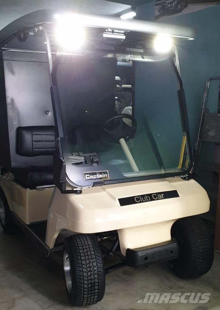 Club Car DS Housekeeping & Solar Panel