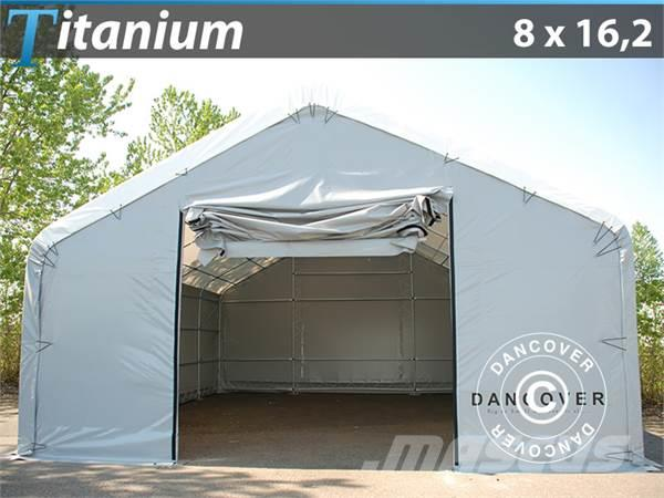Dancover Storage Shelter 8x16,2x3x5 Titanium Telthal