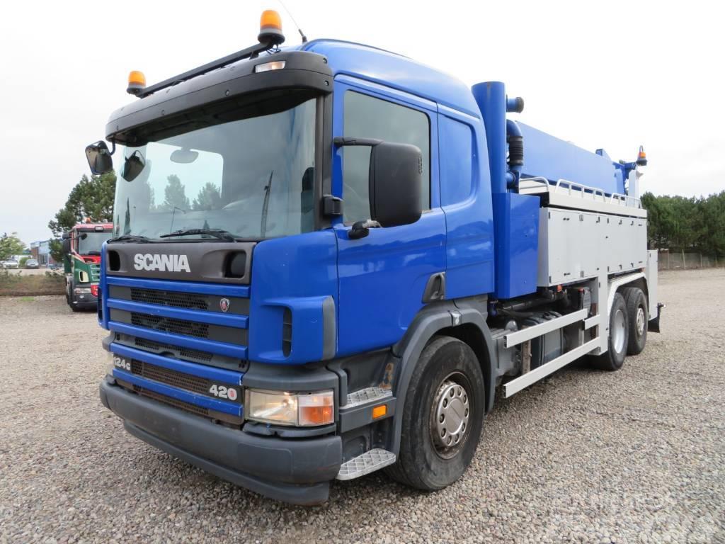 Scania 124/420 6x2*4 12.000 l. Hvidtved Larsen